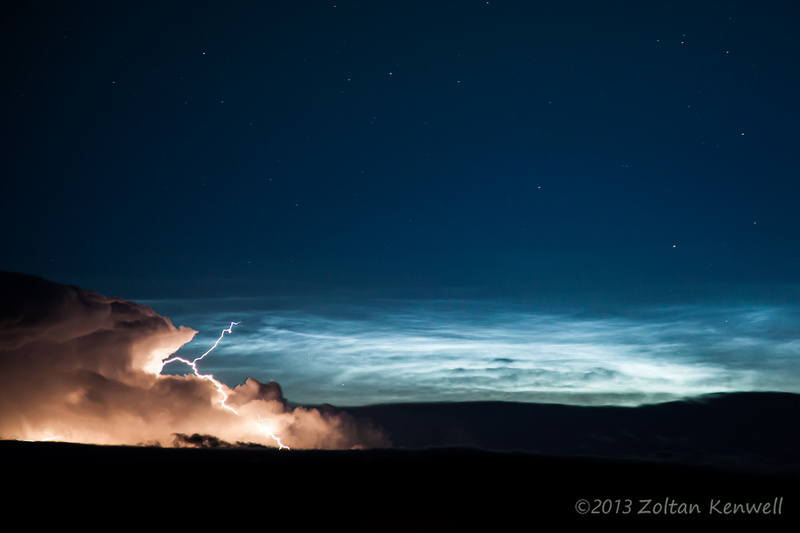 Zoltan Kenwell Photography: Aurora/Noctilucent Clouds/Lightning July 24, 2012 &emdash; _MG_9585